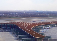 Terminal 3 of Beijing Capital International Airport is the 2nd-largest airport terminal in the world