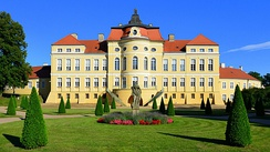 Palace of the Raczyński family in Rogalin, within the Rogalin Landscape Park