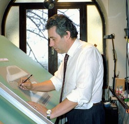 Paolo Martin at work