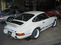 Duck tail on a 1973 Porsche 911 Carrera RS