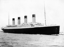 RMS Titanic departs from Southampton. Her sinking led to tighter safety regulations