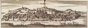 View of Aachen in 1690
