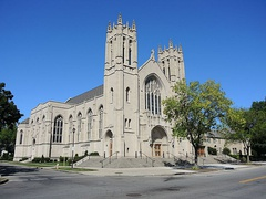Sacred Heart Cathedral, seat of the Rochester Diocese