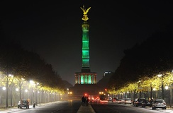 The Victory Column in Tiergarten