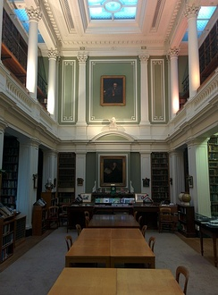 The library of the Linnean Society, Burlington House