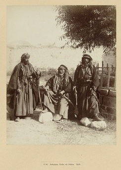 Three bedouins sheikhs, c. 1867-1876