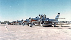 F-84F Thunderstreaks of the 110th Tactical Fighter Squadron, 131st Tactical Fighter Wing, Missouri Air National Guard, Toul Air Base, France – Deployed as a result of the Berlin Crisis 1961/62