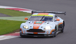 The Vantage GTE at the Silverstone round of the 2012 World Endurance Championship