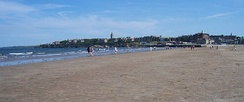 View of St Andrews from the West Sands.