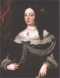 Maria Caterina Farnese, Francesco's first Wife