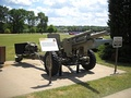XM124E2 Light Auxiliary-Propelled 105 mm Howitzer at the Rock Island Arsenal museum