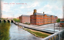 The Adelaide Silk Mill, shown in 1910.