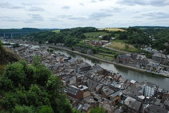 View of Dinant from the Citadel