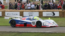 An Aston Martin AMR1 at Goodwood Festival of Speed 2007