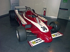 The Alfa Romeo 177 which was used during the 1979 season.