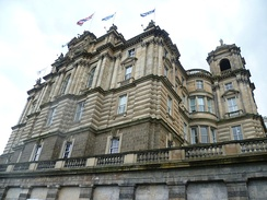 The Bank of Scotland, located in Edinburgh, is one of the oldest banks in the world
