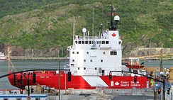 CCGS Terry Fox docked at CCG Base St. John's in St. John's, Newfoundland and Labrador