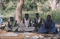 A group of marabouts – West African religious leaders and teachers of the Quran.