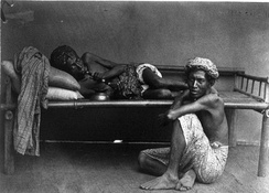 Opium users in Java during the Dutch colonial period c. 1870