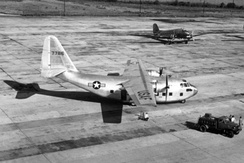 The XC-123 prototype.