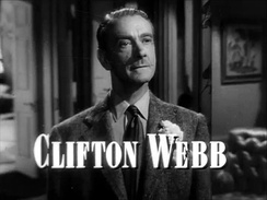 Webb's performance in Laura earned him an Academy Award nomination.