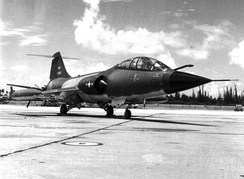 F-104D Starfighter of the 198th Tactical Fighter Squadron.