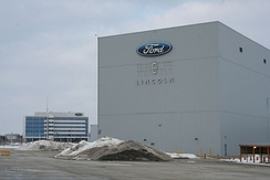 Ford's Oakville Assembly in the Greater Toronto Area. Central Canada is home to several auto factories.