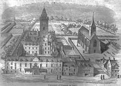 The University of Glasgow in 1650