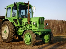 Модели трактора МТЗ-82 1:43