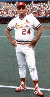 Whitey Herzog managed the St. Louis Cardinals in the 1980s