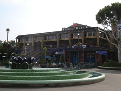 Former location at Downtown Disney in Anaheim, California.