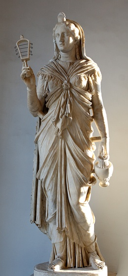 Roman, Hadrianic period, statue of Isis in marble from the Musei Capitolini