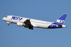 A former Joon Airbus A320