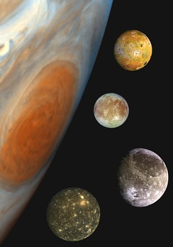 January 7: Galilean moons are first observed.