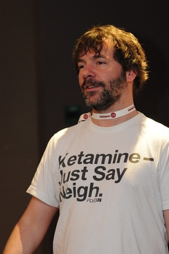 """Just Say Neigh"" T-shirts making reference to ketamine became popular in the late 2000s, parodying the Just Say No campaign and ketamine's reputation as a drug for horses.[151]"