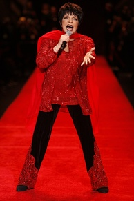 "American actress and singer Liza Minnelli has established herself as ""The Queen of Broadway""."