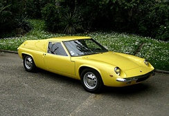 The Lotus Europa S1 was based on a prototype built to compete for Henry Ford II's contract to build a Le Mans race car in the early 1960s.