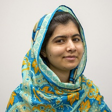 Malala Yousafzai, a Pakistani activist, social entrepreneur and youngest-ever Nobel Peace Prize winner