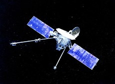 Маринер-10— первый космический аппарат, достигший Меркурия.