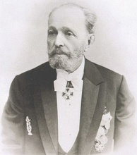 The ballet master and choreographer Marius Petipa.