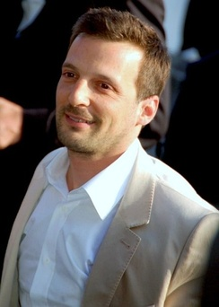 Kassovitz at the 2008 Cannes Film Festival.