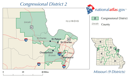 Missouri's 2nd congressional district in 2010