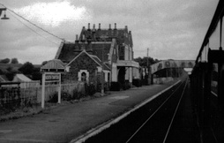 North Tawton station in 1970.