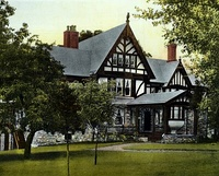 """Owl House"" in the Gramatan Hill section of Bronxville (1898)"