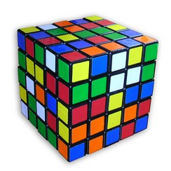 A Professor's Cube has 150 colored squares