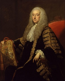 Robert Henley, 1st Earl of Northington by Thomas Hudson