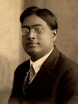 Satyendra Nath Bose was a physicist, specialising in mathematical physics. He is best known for his work on quantum mechanics in the early 1920s, providing the foundation for Bose–Einstein statistics and the theory of the Bose–Einstein condensate. He is honoured as the namesake of the boson.