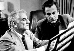 Bernstein with Maximilian Schell on PBS Beethoven TV series (1982)