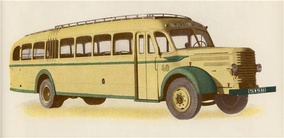 Sisu L-61 bus from 1950.