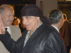 Host Steven Van Zandt, known as a guitarist and actor on The Sopranos.